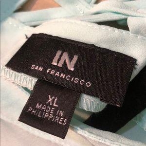 I.N. San Francisco Tops - Cute Sheer Tank